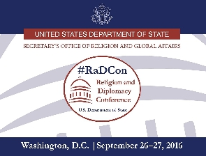 2016 #RadCon Religion and Diplomacy Conference