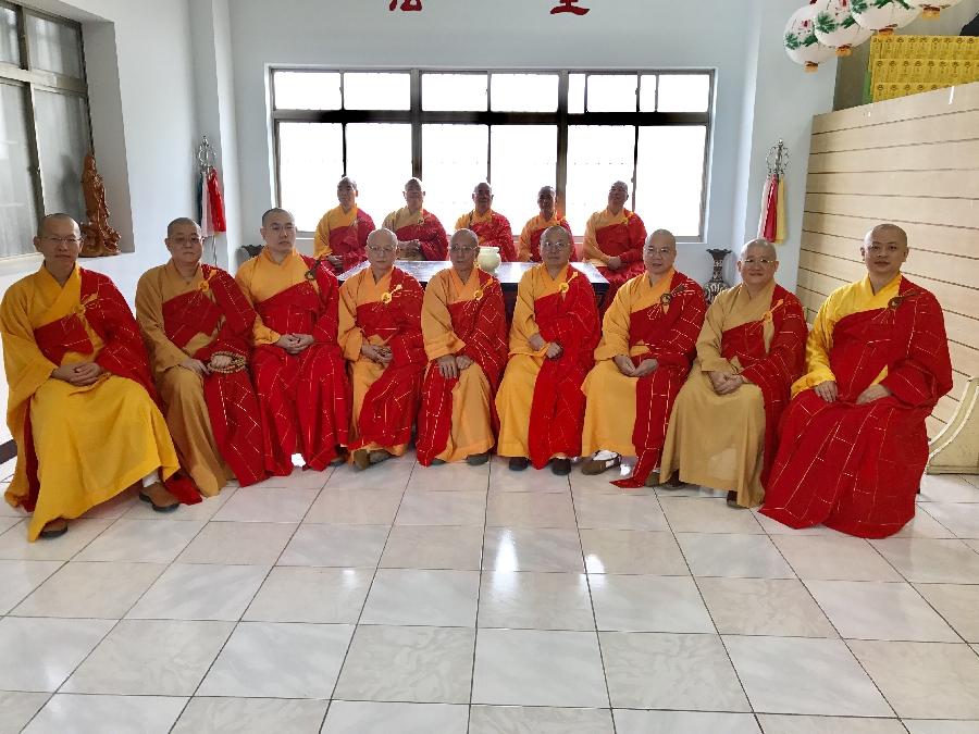 Kuang Teh Temple Surangama Ceremony Outer Altar Host Venerables