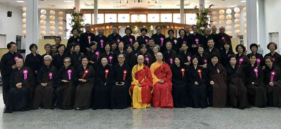 Kuang Teh Temple Surangama Ceremony Group Photo