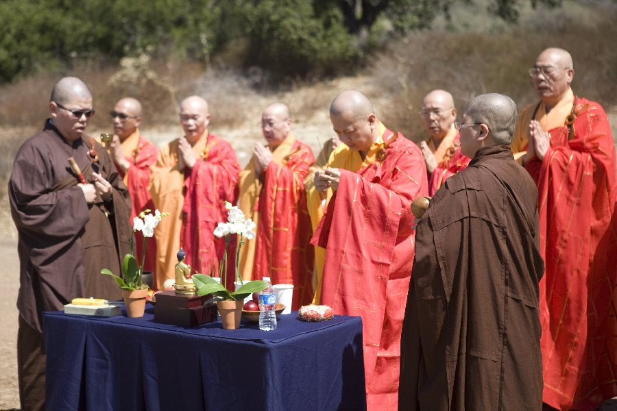 Pray for the propagation of the Dharma and happiness to everyone
