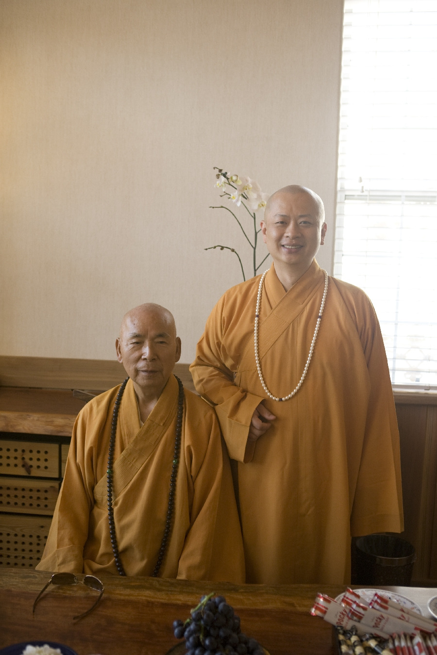 Most Ven. Ben Jui and Ven. Master Zen Yu