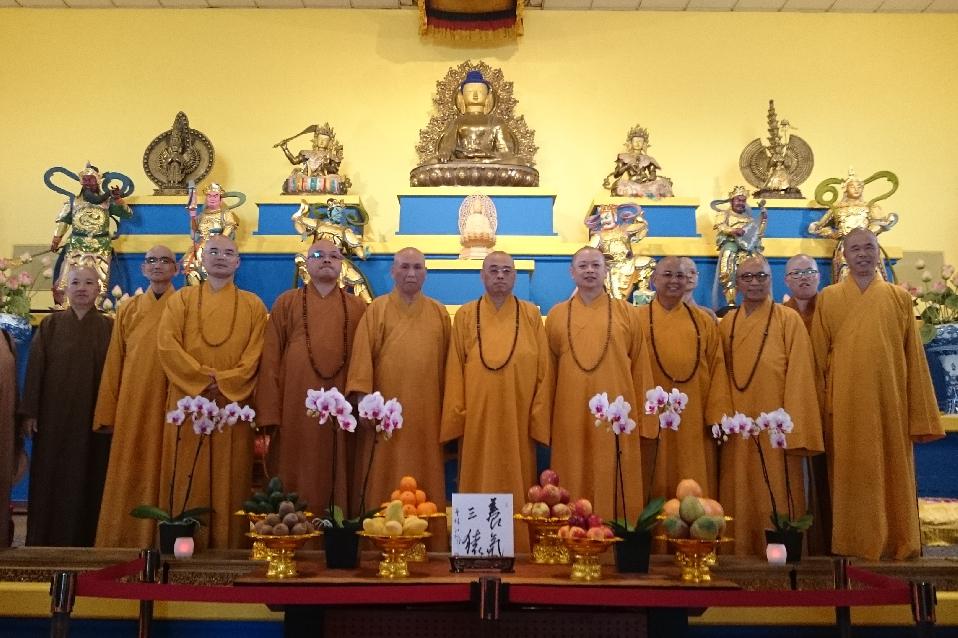 Chinese Buddhist Association Visit