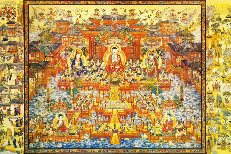 Guiding the path for wondering Buddhist